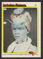 Topps - Star Trek - The Motion Picture 1980 - # 33 Andorian Close Up