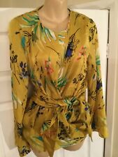 Marks And Spencer Size 12 Lovely Top Tie Detail    Top  New Rap £45   TB15