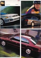 1999 MITSUBISHI GALANT US Brochure 2.4 LITRE 4 and 3.0 LITRE V6