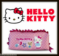 Hello Kitty Pink Ruffle Pencil Pouch - Sanrio