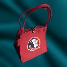 FSU Florida State Seminoles Embroidered Game Purse Handbag By Alan Stuart NEW