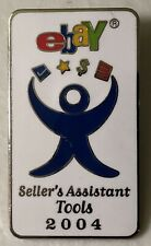 Ebay Sellers Assistant Tools 2004 Lapel Hat Pin Pinback~Ebayana~Paypal~Auctions