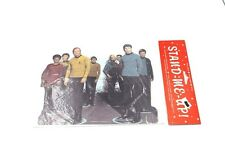 Vintage Stand-Me-Up! Star Trek collectible gift /card MIP