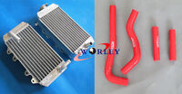 Aluminum Radiator & Hose for Honda CRF 150 R CRF150 CRF150R 2007 2008 2009 07-09