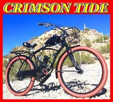 """Crimson Tide 80cc Gas Motor Complete Engine With A 26"""" Bike Bicycle Scooter Kit"""
