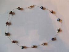 "Beautiful custom made 20"" Cloisonne Bead Necklace"