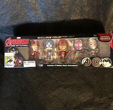Marvel Avengers Age of Ultron Minis Figure Set - (SD Comic Con) Box Shelf Wear.