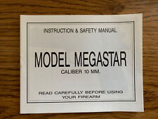 Star Bonifacio Echeverria Megastar Instruction And Safety Manual