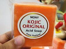 HOT!! Natural Soap  KOJIC CARROT SKIN LIGHTENING KOJIC ACID WHITENING SOAP 70 G.