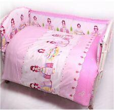 Baby Bedding Crib Cot Quilt Sheet Set 9pcs