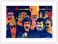 "Monty Python Pop Art Giclée Limited Edition Print 12x16"" by Stephen Chambers"