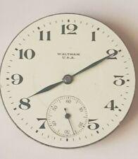 Movement 16 s Waltham Pocket Watch