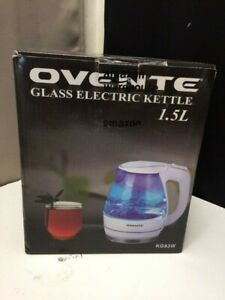 Ovente Electric Glass Kettle 1.5Liter KG83W