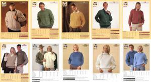 Heirloom Pattern Leaflets for Men and Women NOS