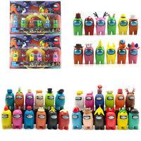 6/7/12 Pcs/Sets Among Us Action Figures Collection Plastic Dolls Game Kids Toys