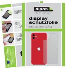 5x Schutzfolie für Apple iPhone 11 Rückseite Display Folie matt