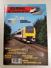 Revue Journal du Chemin de Fer  – n° 122 -  juillet/août 2001