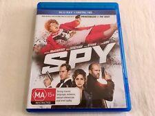Spy (2015) - Blu-Ray Region B | VGC | Melissa McCarthy | Paul Feig