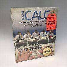 ADAM CALC DIGITAL DATA PACK COLECO SEALED 1984 VINTAGE COMPUTER