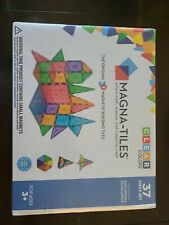 Magna -Tiles 14837  37 Piece Set Clear Colors Building Set New In Box