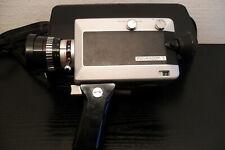 Agfa MOVEXOOM S Super 8 Filmkamera mit Ledertasche und Beschreibung gut erhalten