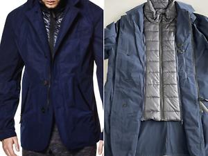 Jack Wolfskin TECH LAB NOVARA 2 in1 Outdoor Parka Weste Vest Coat Mantel Jacke S