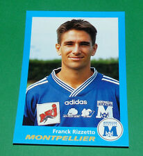 N°239 RIZZETTO MONTPELLIER SC PAILLADE PANINI FOOT 96  FOOTBALL 1995-1996