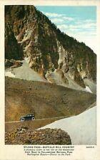 Postcard Sylvan Pass, Yellowstone National Park - Burlington Route