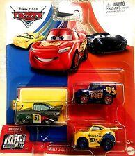 🔥Disney Pixar Cars METAL MINI RACERS Willy's Butte Race McQueen Ramone Cruz NEW