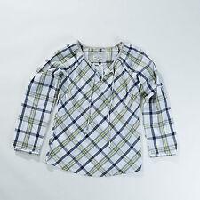 Karierte locker sitzende Langarm Damenblusen, - tops & -shirts im Tuniken-Stil