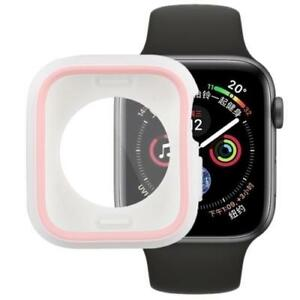 AMZER Silicone Full Coverage Case for Apple Watch Series 4 44mm - Pink