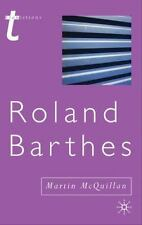 Roland Barthes (transitions): By Martin McQuillan