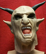 Realistic Male rubber gum latex mask Demon Disguise Halloween