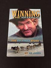 G. B. GB Jones Winning The Iditarod Dog Musher Champ Signed Autograph Book COA