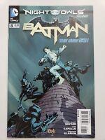 BATMAN #8 (2012) DC 52 COMICS NIGHT OF THE OWLS! SCOTT SNYDER! GREG CAPULLO ART!