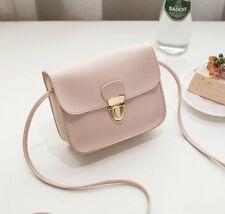 Women Faux Leather Small Handbag Satchel Messenger Cross Body Shoulder Bag Purse