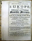 1711 newspaper w Long detailed report on QUEEN ANNES WAR Colonial War in America