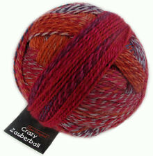 Crazy Zauberball 100g  Schoppel Farbe 2231 Buntmetall  Wolle Sockenwolle