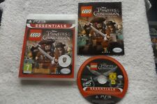 LEGO PIRATES OF THE CARIBBEAN THE VIDEO GAME PLAYSTATION 3 PS3 V.G.C. FAST POST