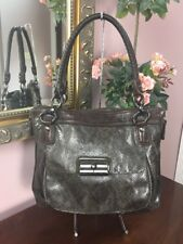 Coach Bag Kristin  Embossed Python Leather  Tote 18307 Brown Gray $698  B2S