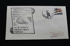 NAVAL SPACE COVER 1966 GEMINI GTA-10 RECOVERY SHIP USS NORRIS (DD-859) (6414)