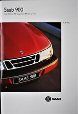 SAAB 900 SALES BROCHURE - 1995 - COUPE & CONVERTIBLE