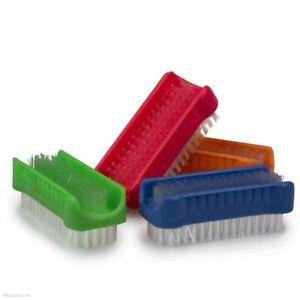 Nail Scrub Brush Manicure Pedicure Finger Toe Plastic Bristle Cleaning Washing