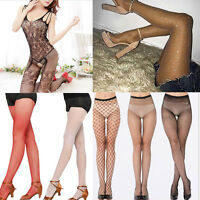 34 types Women Lace Sheer Over Knee Thigh Stockings High Socks Pantyhose Tights