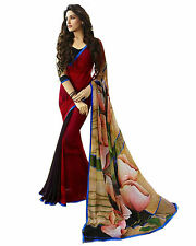 Bollywood Designer printed Saree Embroidery Blouse.