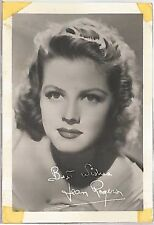 Jean Rogers 4x6 Signed Photo