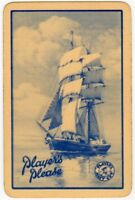 Playing Cards 1 Single Card Old PLAYERS PLEASE Cigarettes Tobacco Advertising 2