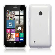For Nokia Lumia 530 Slim TPU Silicone Gel Skin Case Cover - Clear