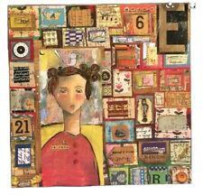 Kelly Rae Roberts NO REGRETS 12 X 12 Square Boxy Wall Art ~ 18097