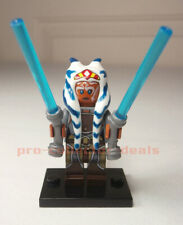 AHSOKA TANO Star Wars Minifigure +Stand Rebels The Clone Wars Mandalorian FREESH